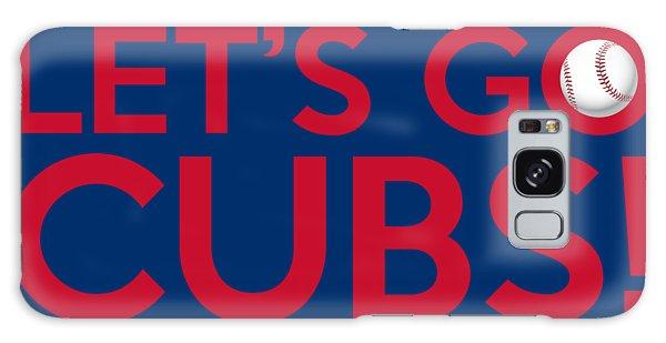 Vintage Chicago Galaxy Case - Let's Go Cubs by Florian Rodarte
