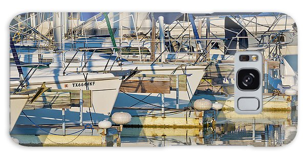 Motor Yacht Galaxy Case - Let's Go Sailing by Linda Unger