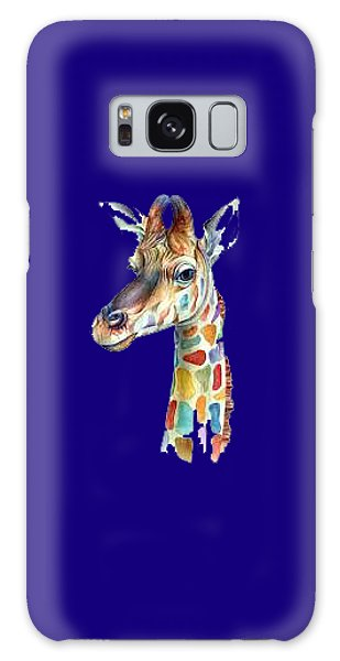 Let's Neck T-shirt Galaxy Case by Herb Strobino