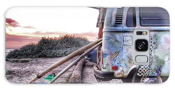 Vw Bus Galaxy Case - Let's Surf by Hal Bowles