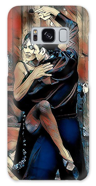 Galaxy Case featuring the digital art Let's Tango by Pennie McCracken