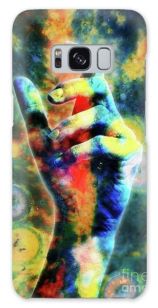 Letting Go Galaxy Case by Stephan Grixti