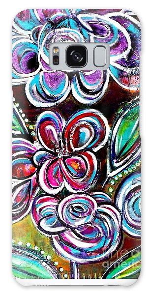 Letting Loose Galaxy Case by Julie  Hoyle