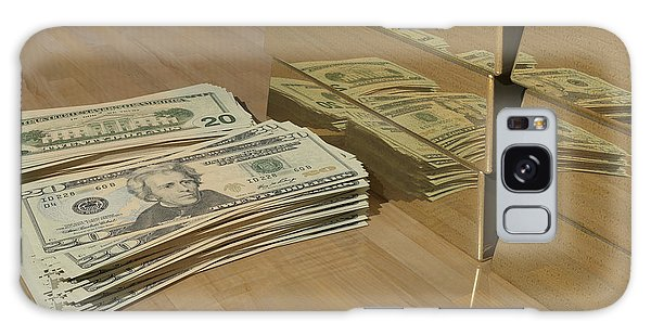 Level One Money Manifestation  Galaxy Case by James Barnes