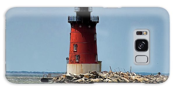 Lewes Lighthouse Galaxy Case