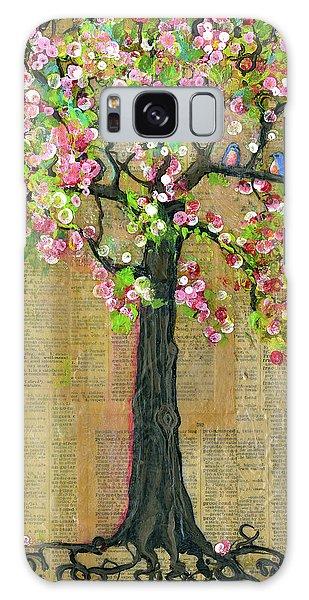 Bluebird Galaxy S8 Case - Lexicon Tree Of Life 4 by Blenda Studio