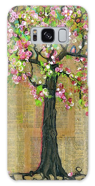 Bluebird Galaxy Case - Lexicon Tree Of Life 4 by Blenda Studio
