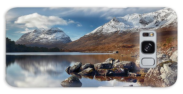 Galaxy Case featuring the photograph Liathach by Grant Glendinning