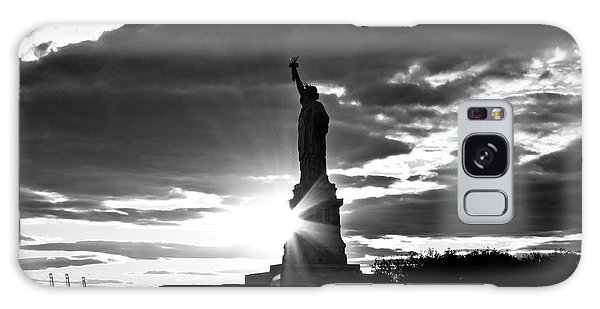 Galaxy Case featuring the photograph Liberty by Ana V Ramirez