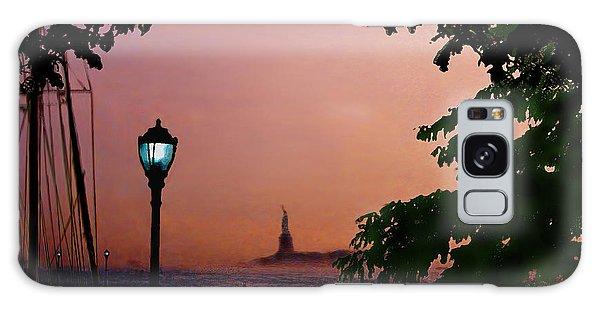 Liberty Fading Seascape Galaxy Case by Steve Karol