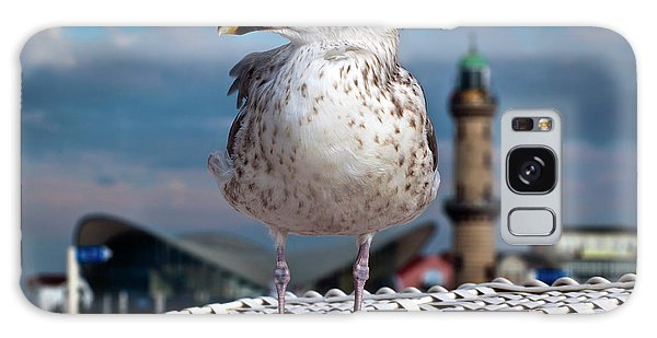 Liberty Of An Pacific Gull Galaxy Case