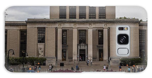 Library At Penn State University  Galaxy Case by John McGraw