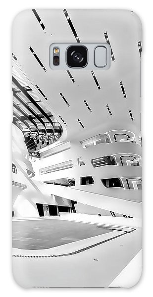 Library Interior 3 Zaha Hadid Wu Campus Vienna  Galaxy Case