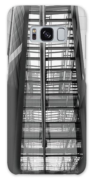 Library Skyway Galaxy Case by Rona Black
