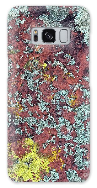 Lichen Colors Galaxy Case by Todd Breitling