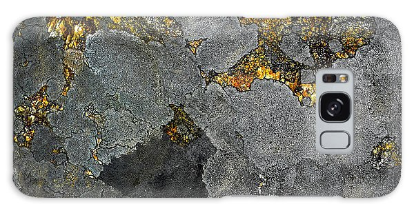 Lichen On Granite Rock Abstract Galaxy Case