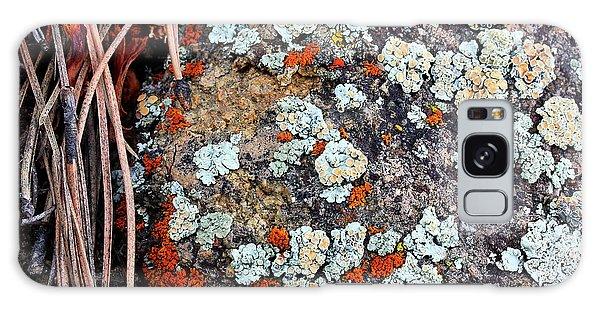 Lichen With Pine Galaxy Case