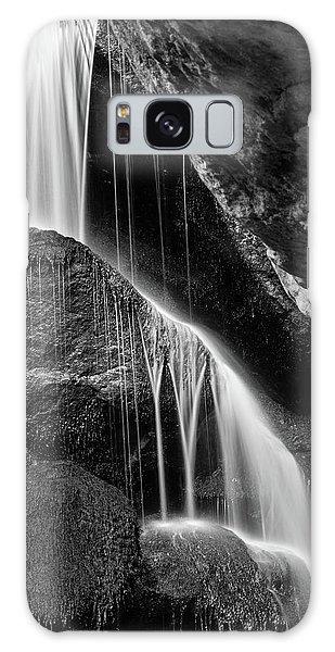 Lichtenhain Waterfall - Bw Version Galaxy Case