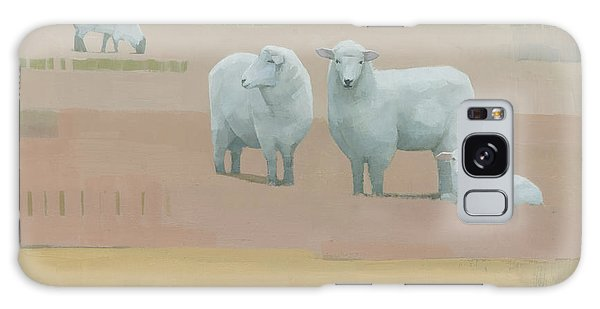 Sheep Galaxy Case - Life Between Seams by Steve Mitchell