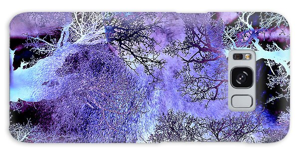 Life In The Ultra Violet Bush Of Ghosts  Galaxy Case