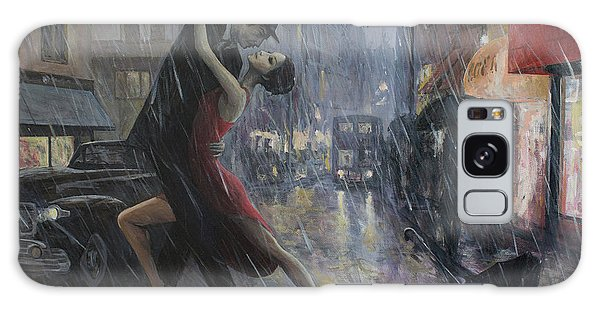 Tango Galaxy Case - Life Is A Dance In The Rain by Adrian Borda