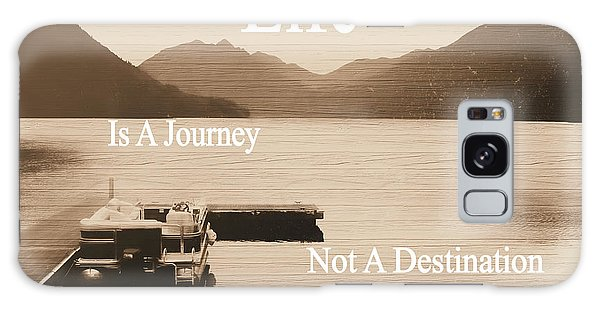 Traveler Galaxy Case - Life Is A Journey by Dan Sproul