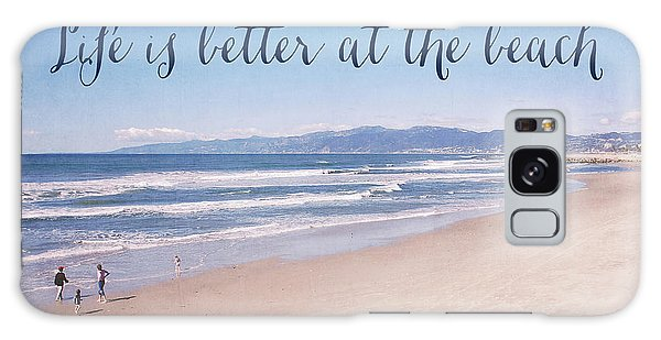 Venice Beach Galaxy Case - Life Is Better At The Beach by Nastasia Cook