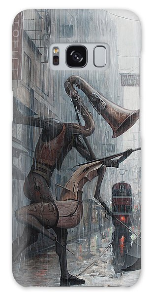Evening Galaxy Case - Life Is  Dance In The Rain by Adrian Borda