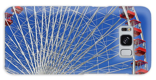 Life Is Like A Ferris Wheel Galaxy Case