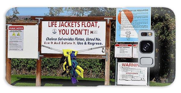 Life Jackets Float Galaxy Case