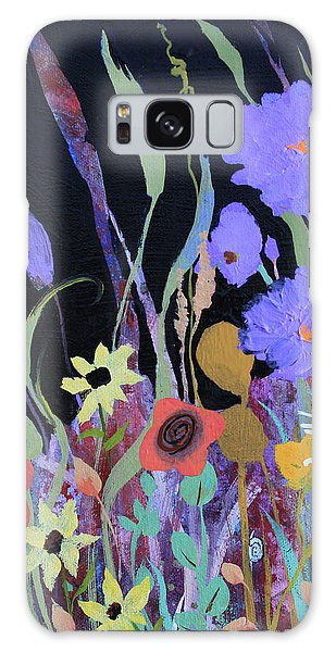 Galaxy Case featuring the painting Life On A Summer's Day by Robin Maria Pedrero