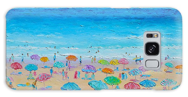 Life On The Beach Galaxy Case