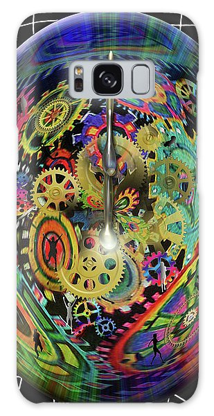 Life / Time Galaxy Case
