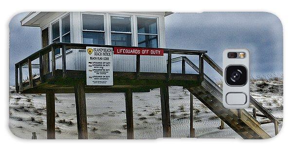 Lifeguard Station 1 Galaxy Case by Paul Ward