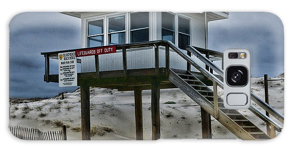 Lifeguard Station 2  Galaxy Case by Paul Ward