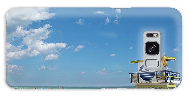 Lifeguard Station Miami Beach Florida Galaxy Case