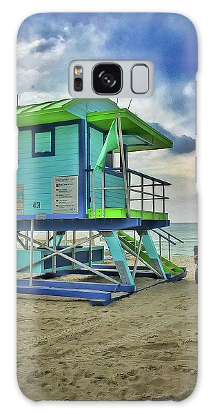 Lifeguard Station - Miami Beach Galaxy Case