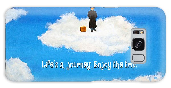 Life's A Journey Greeting Card Galaxy Case