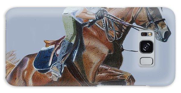 Horse Jumper Galaxy Case