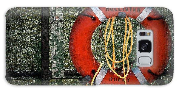Round Galaxy Case - Lifesaver by Evelina Kremsdorf