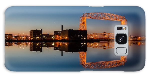 Lift Bridge Galaxy Case