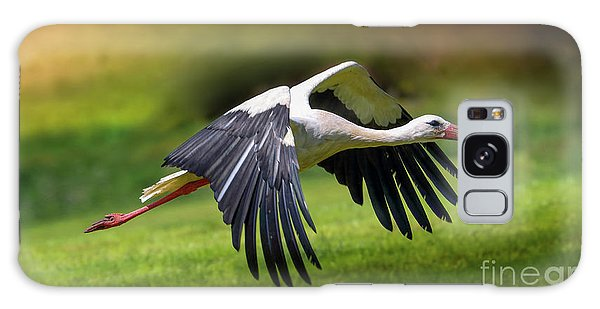 Stork Galaxy S8 Case - Lift Up by Franziskus Pfleghart