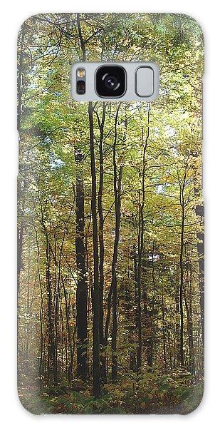 Light Among The Trees Vertical Galaxy Case by Felipe Adan Lerma