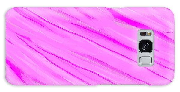 Light And Dark Pink Swirl Galaxy Case by Linda Velasquez