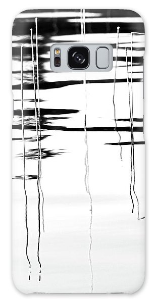Light And Shadow Reeds Abstract Galaxy Case