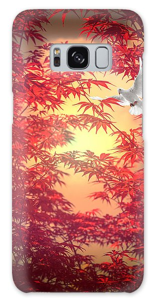 Light As A Feather Galaxy Case by Philippe Sainte-Laudy