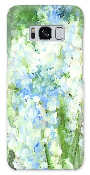 Light Blue Grape Hyacinth. Galaxy Case