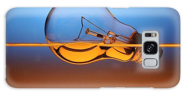 Hybrid Galaxy Case - Light Bulb In Water by Setsiri Silapasuwanchai