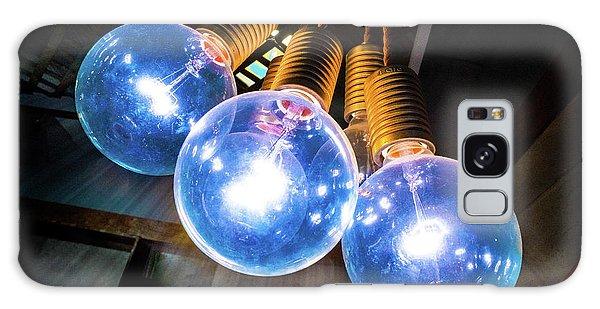 Light Bulbs Galaxy Case