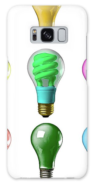 Light Bulbs Of A Different Color Galaxy Case